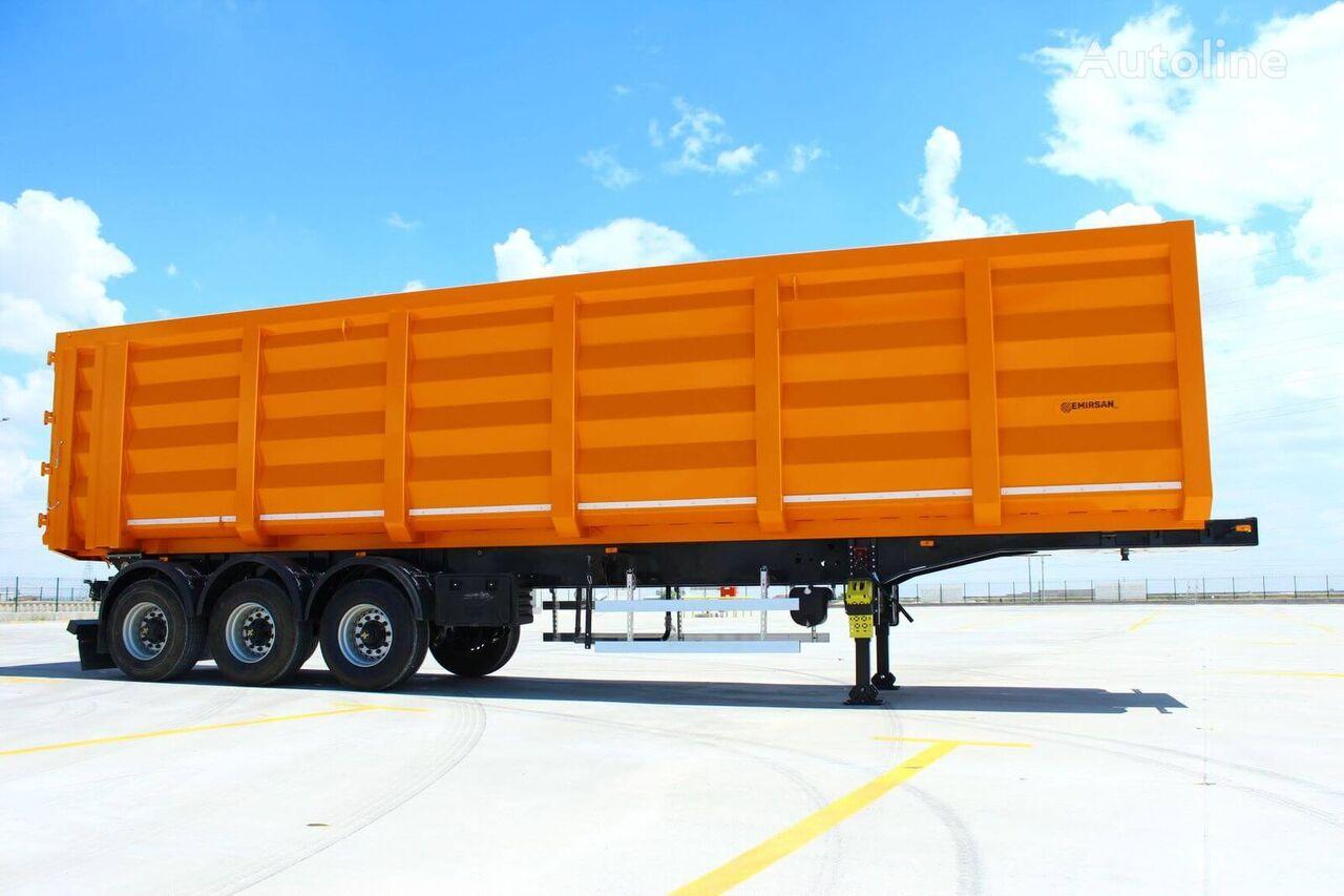 new EMIRSAN Direct From Factory Scrap-Grain Tipper , custom made  tipper semi-trailer