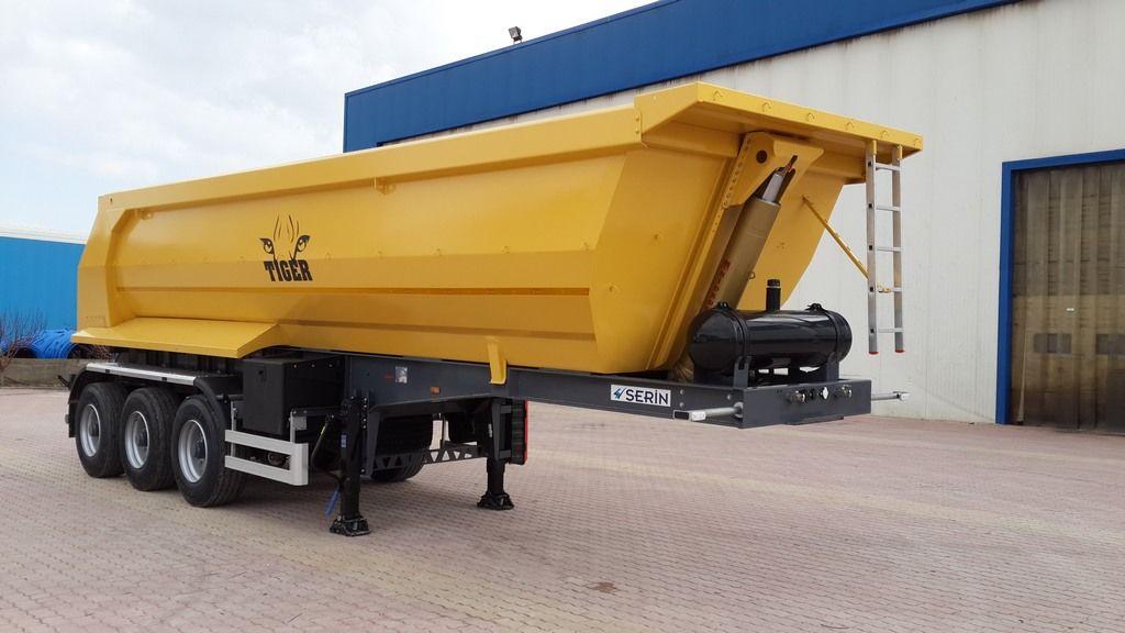new EXPOTRAILER 25 M3 tipper semi-trailer