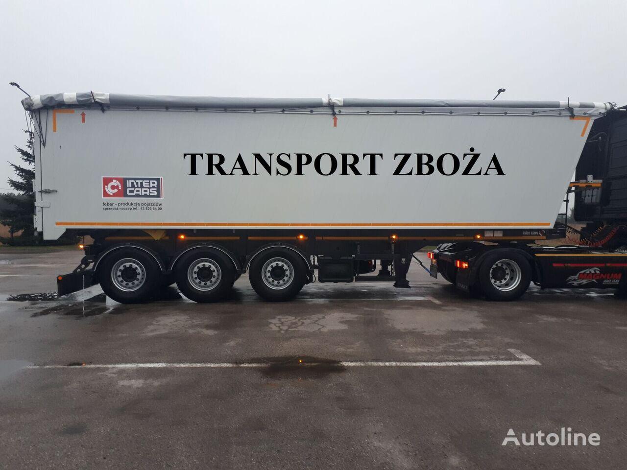 FEBER Feber intercars  TARCZE  KLAPO-DRZWI tipper semi-trailer