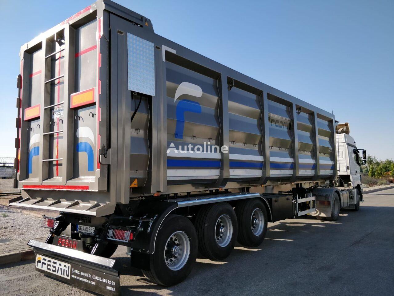 new FESAN tipper semi-trailer