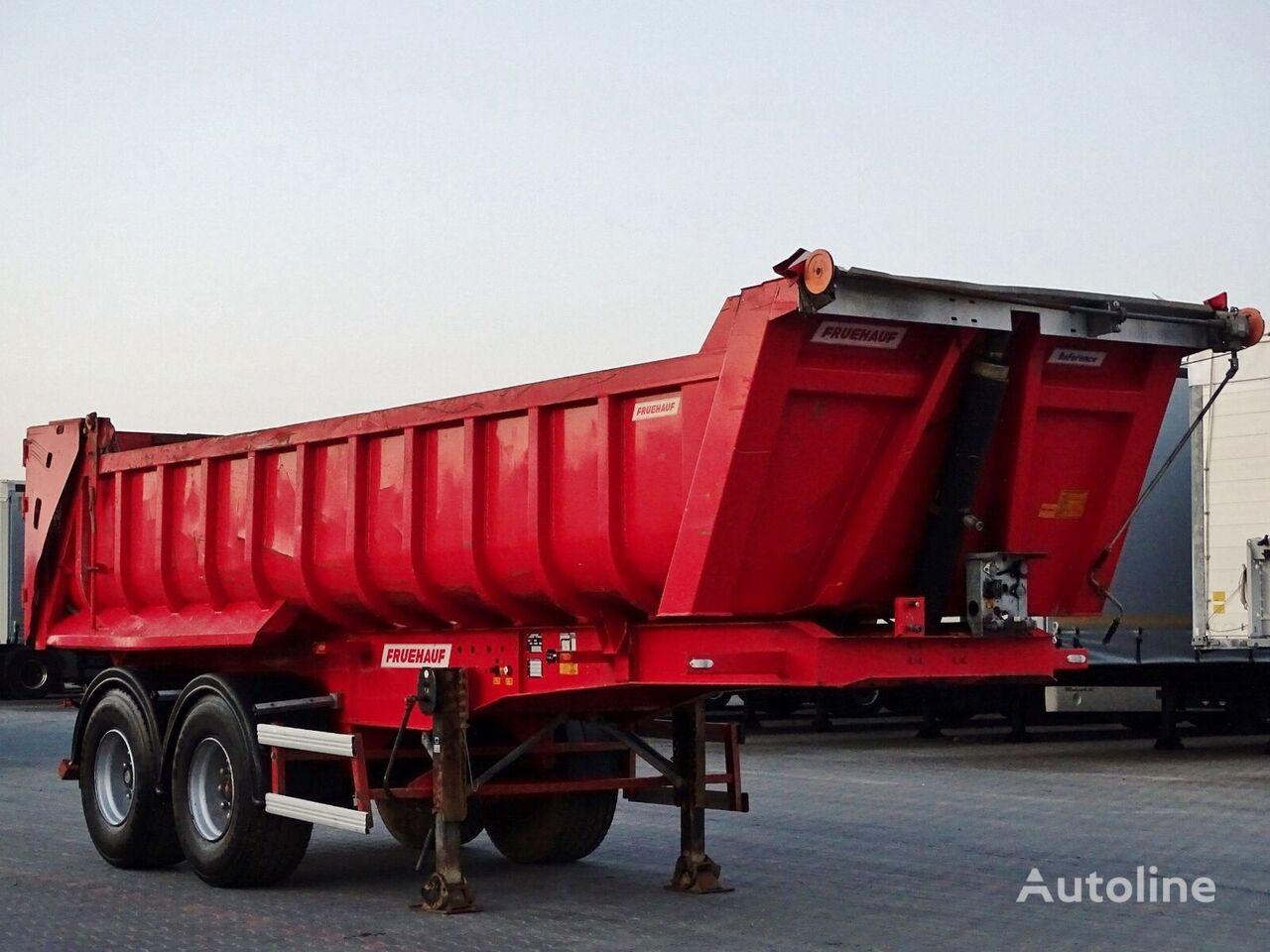FRUEHAUF WHOLE STEEL tipper semi-trailer