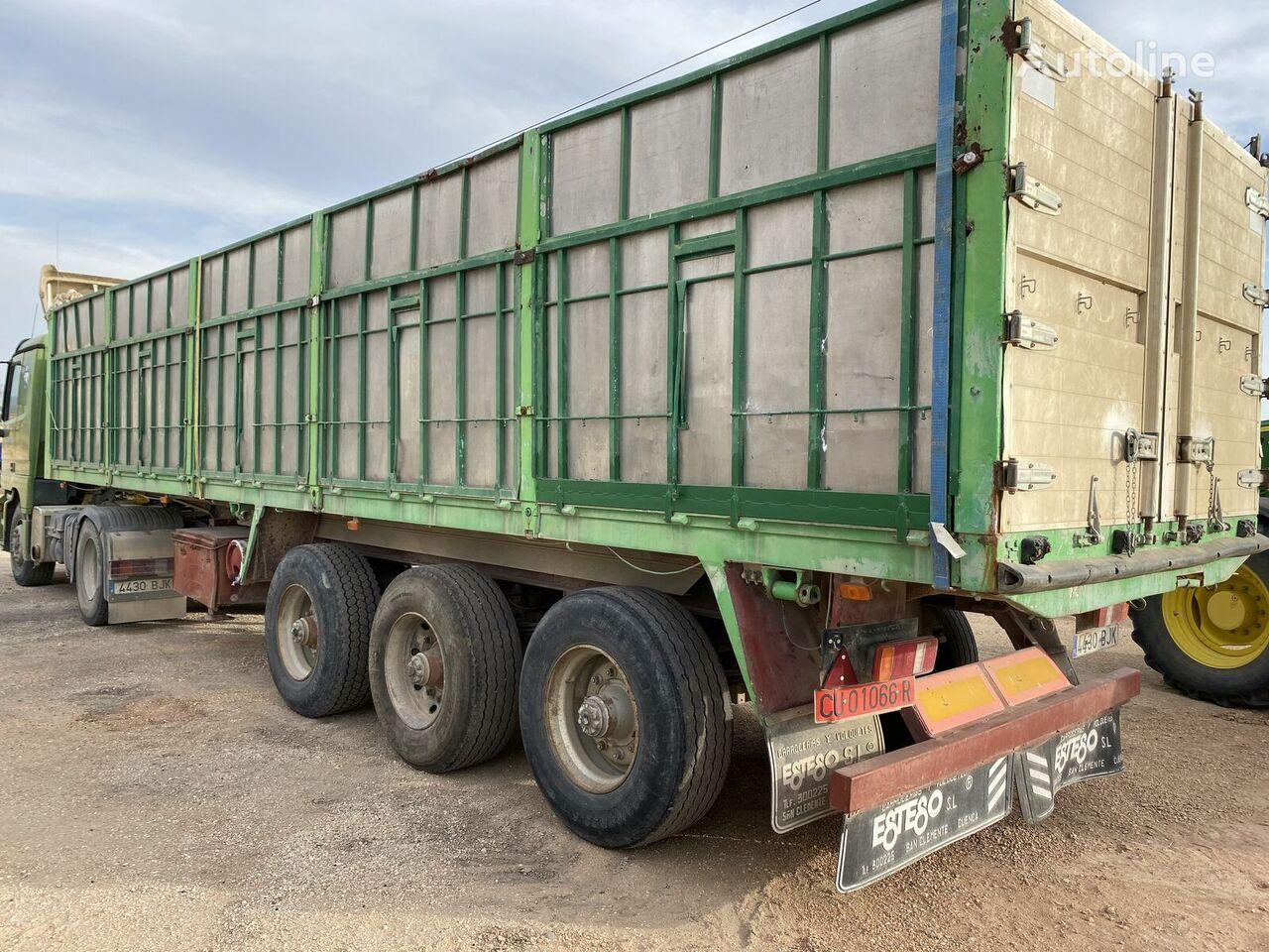 FRUEHAUF enbfa3 tipper semi-trailer