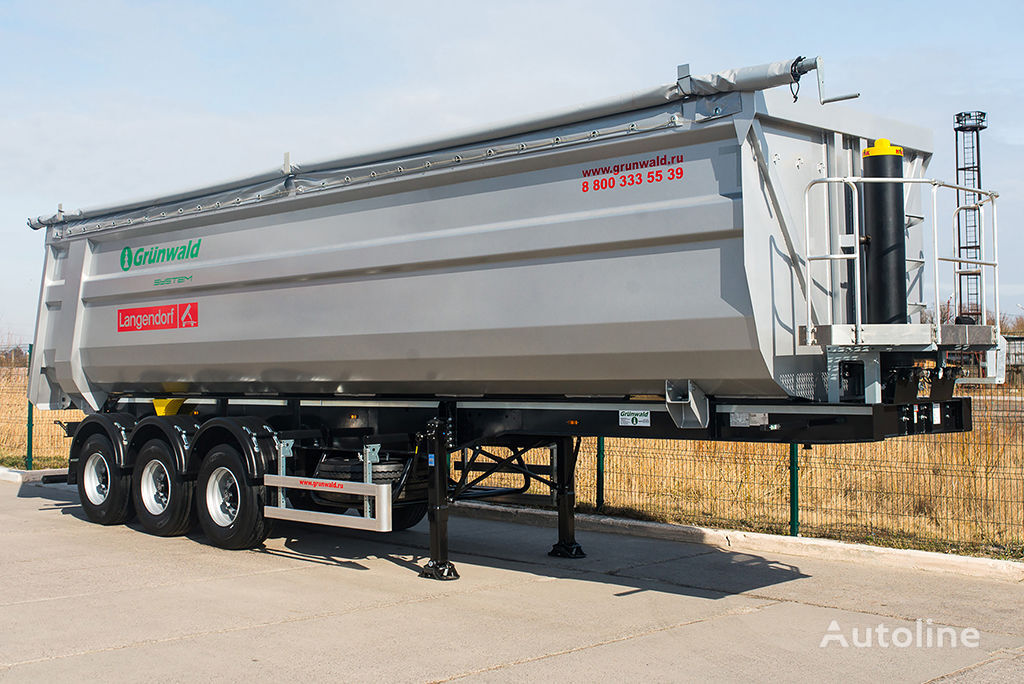 new GRUNWALD Tipper semitrailer 50 cbm tipper semi-trailer