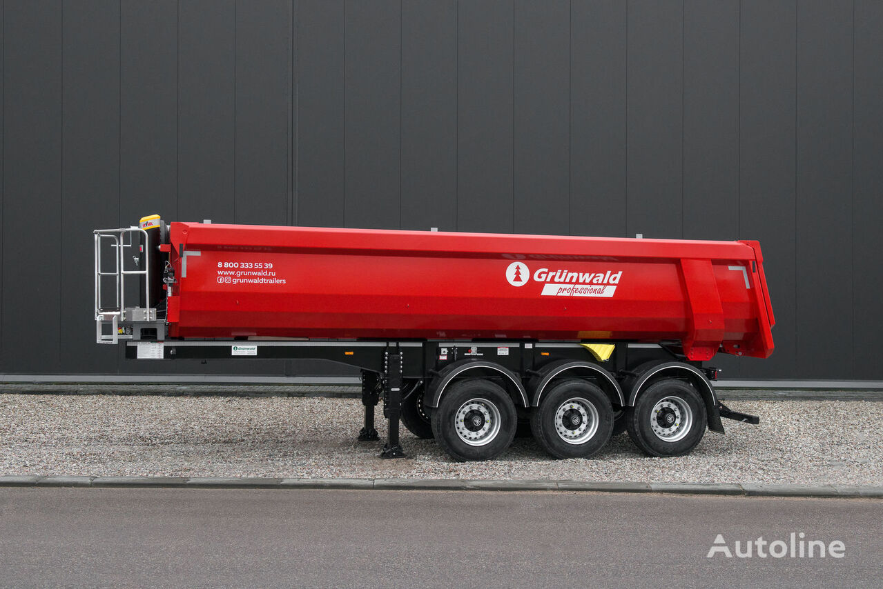 new GRUNWALD  semitrailer 22 cbm tipper semi-trailer