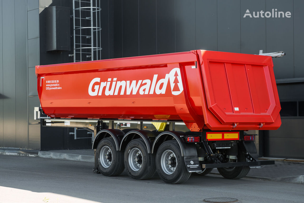 new GRUNWALD tipper semitrailer 27 cbm tipper semi-trailer