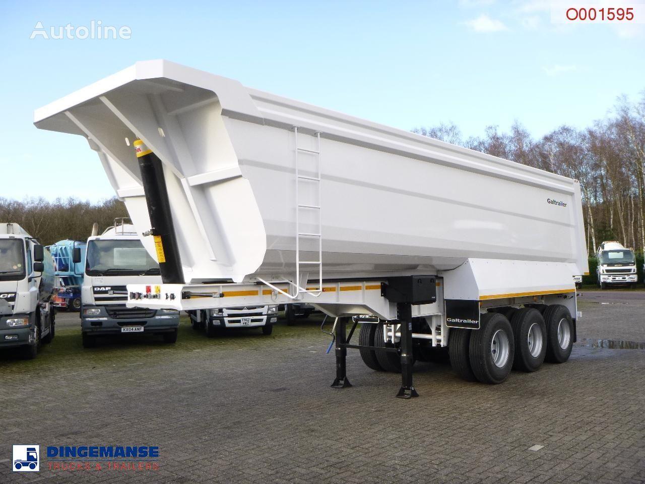 new Galtrailer Tipper trailer steel 40 m3 / 68 T / steel susp. / NEW/UNUSED tipper semi-trailer