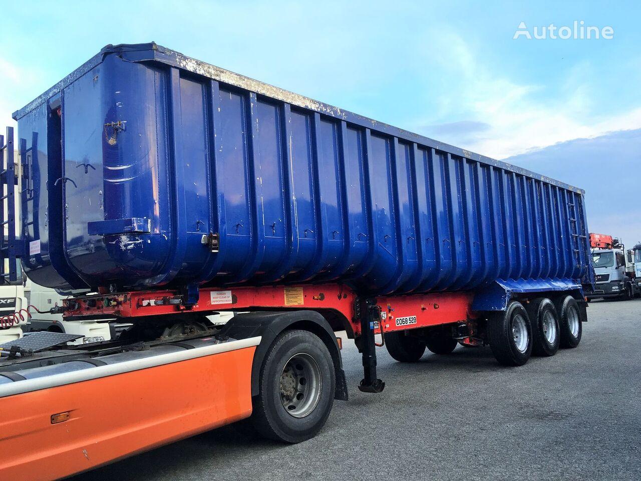 General Trailers ALU tipper 51m3 tipper semi-trailer