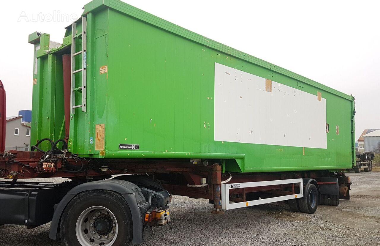 HÜFFERMANN HHK Alu 68 m³ tipper semi-trailer