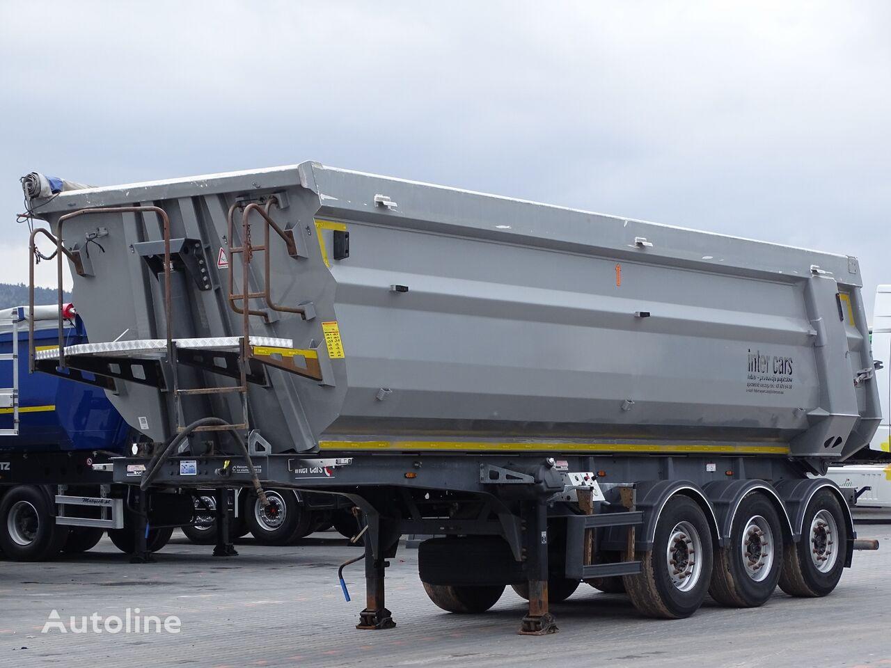 Inter Cars TIPPER 38 M3 / ALUMINIUM MULD / WEIGHT: 5 400 KG / LIFTED AXLE / tipper semi-trailer