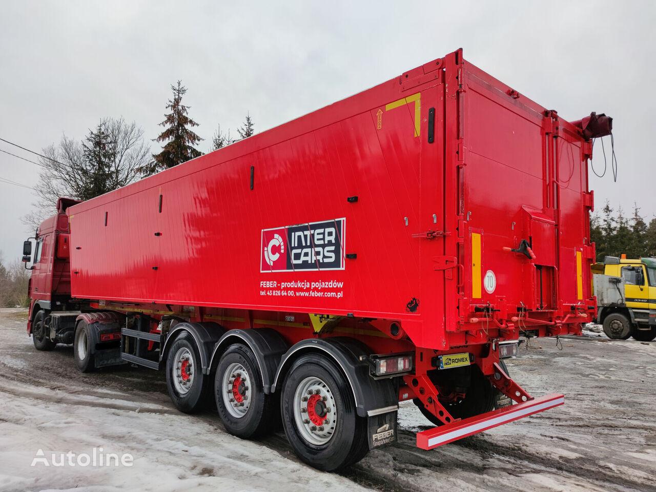 Inter Cars WYWROTKA, KLAPO-DRZWI, 5960 Kg, INTRAX tipper semi-trailer
