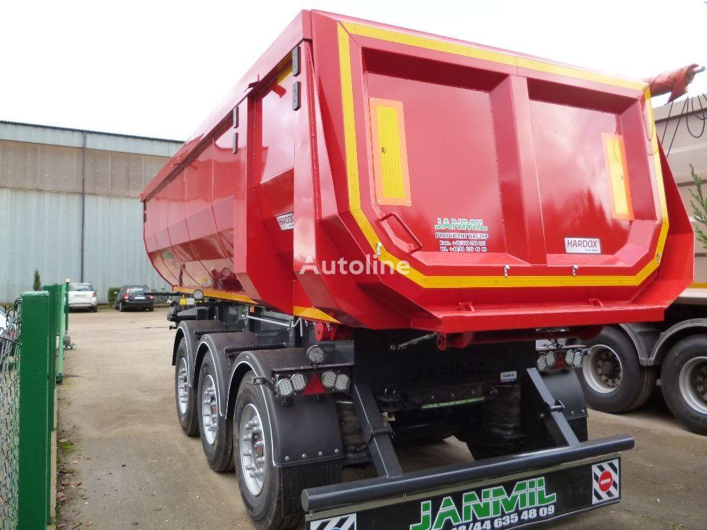 new JANMIL 28m³ HARDOX 450  tipper semi-trailer