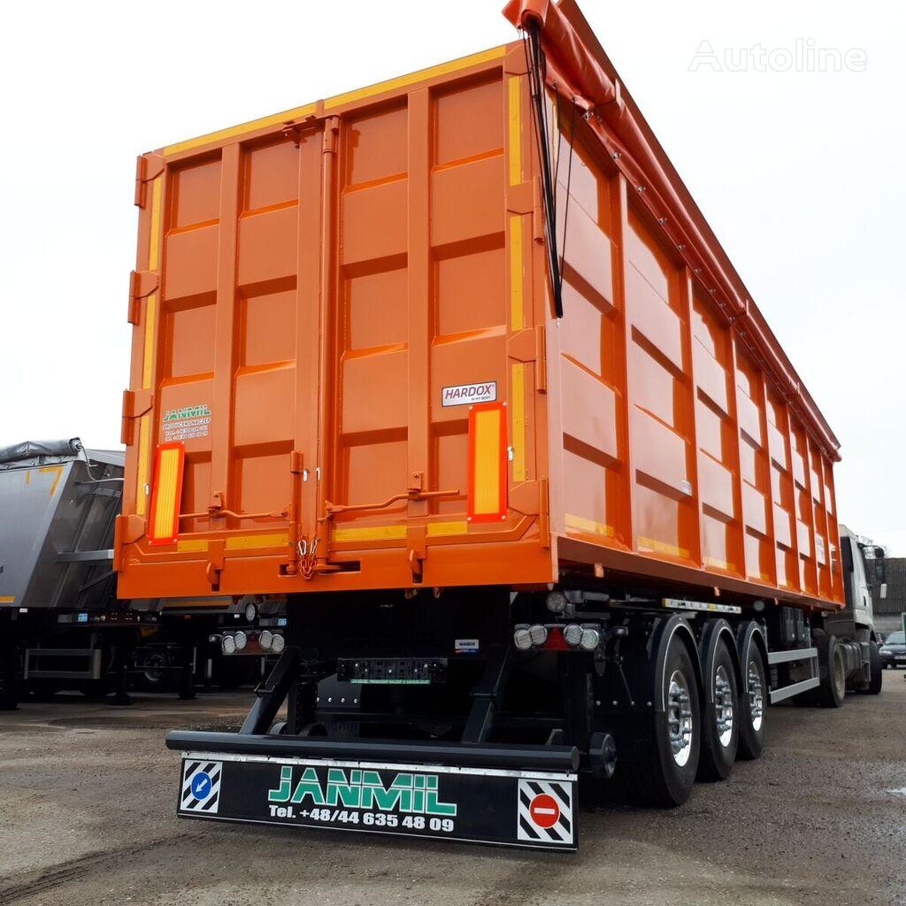 new JANMIL 72 cbm  Hardox 450  tipper semi-trailer