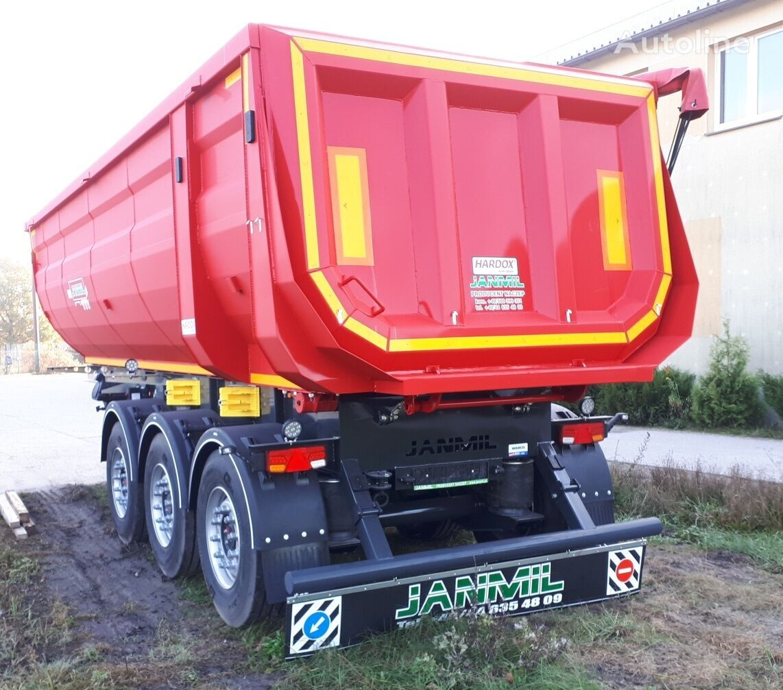 new JANMIL Hardox 450 tipper semi-trailer