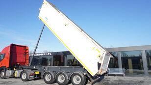 JANMIL NWD, HYVA hydraulic , 30m3 , load 29,300kg , lift axle tipper semi-trailer