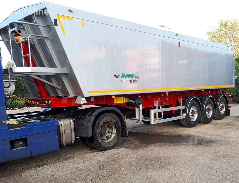 new JANMIL  SAF tipper semi-trailer