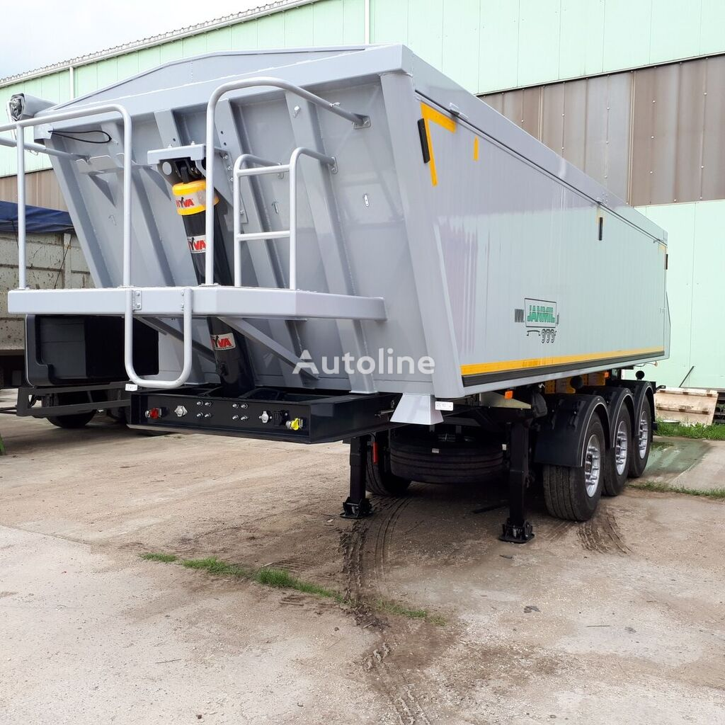 new JANMIL alu 26 m³ ON STOCK !!!  tipper semi-trailer
