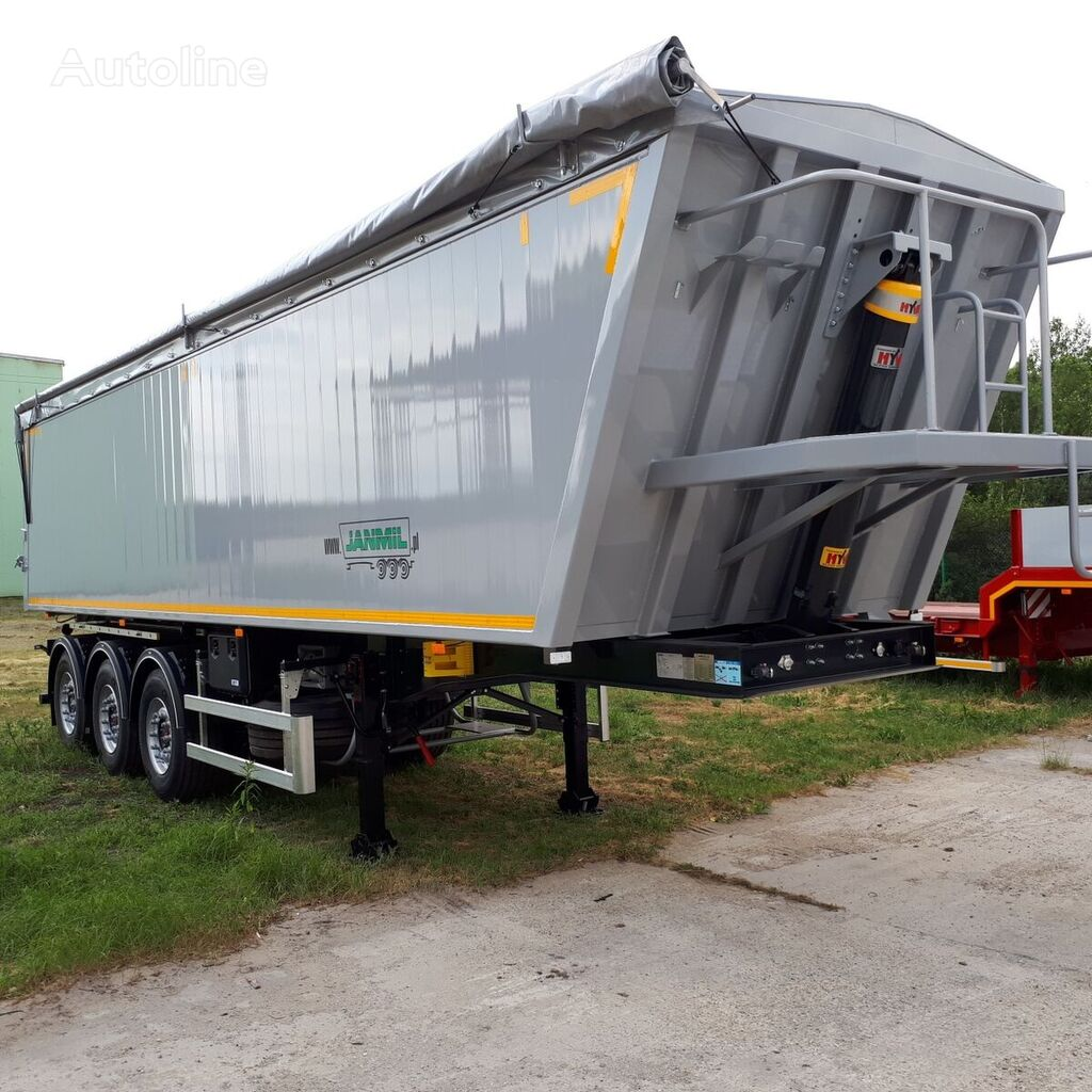new JANMIL alu 42 m³  ON STOCK !!! tipper semi-trailer