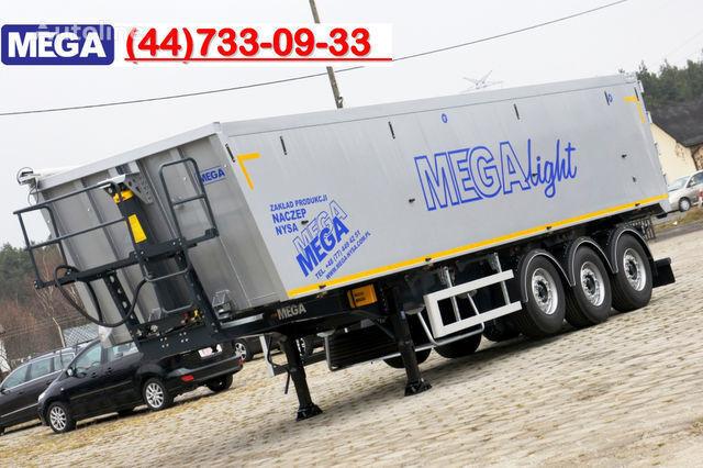 new KARGOMIL 50 - 42 m³ SUPER LIGHT alu tipper 5,9T- READY TO TAKE !!! tipper semi-trailer