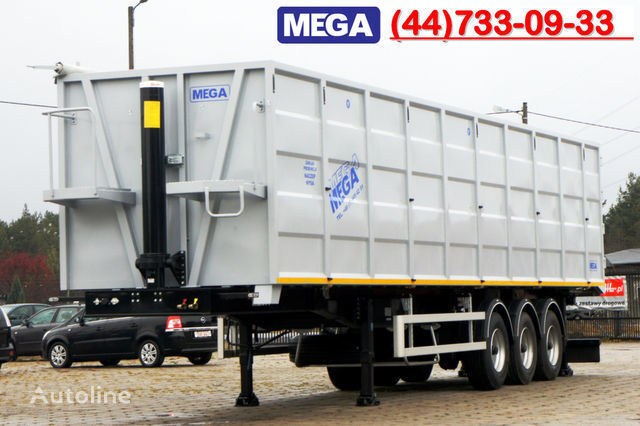 new KARGOMIL 70 m³ / 13,0 m LONG FOR SCRAP / IRON DOOR / STEEL tipper semi-trailer