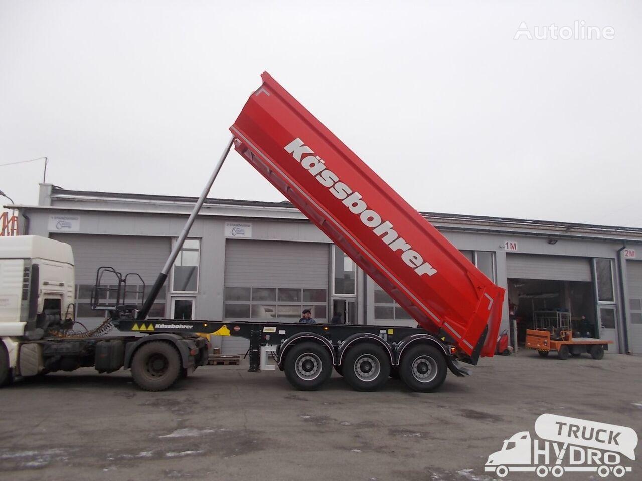 new KASSBOHRER SKS BS 24/Available now/dost.teraz/loco Niemcy tipper semi-trailer