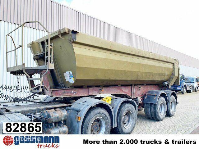 KEMPF SKM 32/2 SKM 32/2 Stahlmulde ca. 24m³, Liftachse, Zwillingsberei tipper semi-trailer