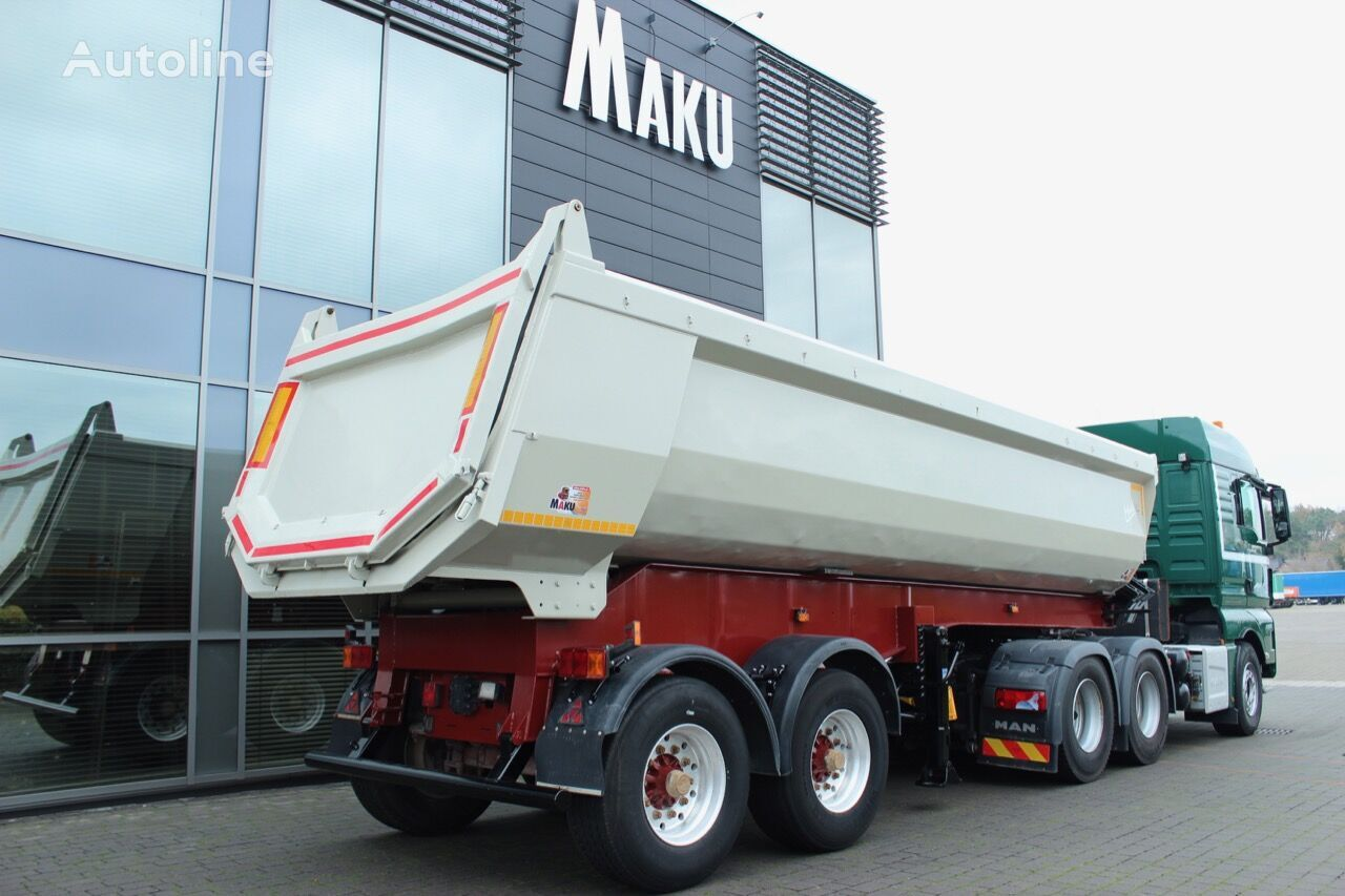 LANGENDORF SKS-HS 18/25 6550Kg 23m3 Top Zustand  tipper semi-trailer