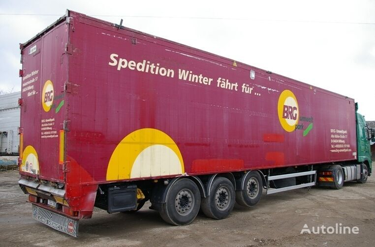 LEGRAS tipper semi-trailer