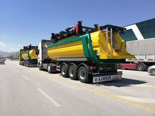 new LIDER 2021 NEW DIRECTLY FROM MANUFACTURER STOCKS READY IN STOCKS   tipper semi-trailer