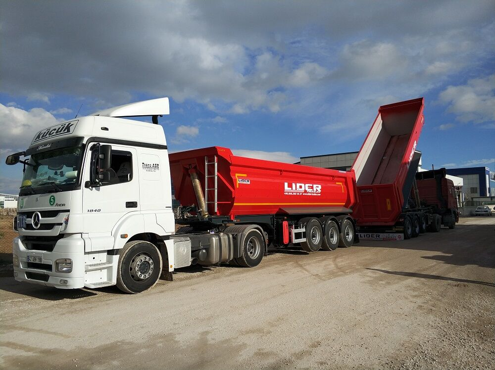 new LIDER LIDER DUMPER NEW 2020 YEAR tipper semi-trailer