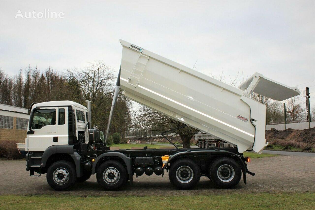 new MAN 41.400 8x4 EuromixMTP Hydraulisch TM20/ EURO 3 tipper semi-trailer