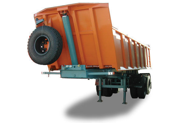 new MAZ 950600-020 tipper semi-trailer