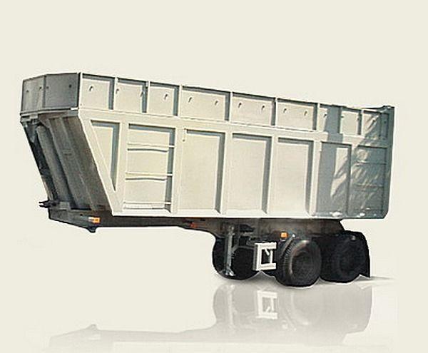 new MAZ 950600-030 tipper semi-trailer