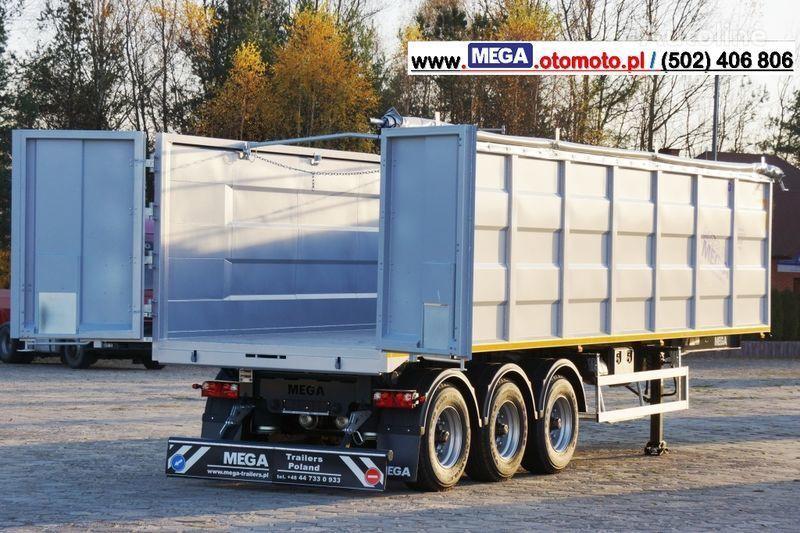 new MEGA 10,4 M(L) / 50 M³ DOMEX/OPTIM 650 TIPPER - SCRAP DOOR - READY ! tipper semi-trailer