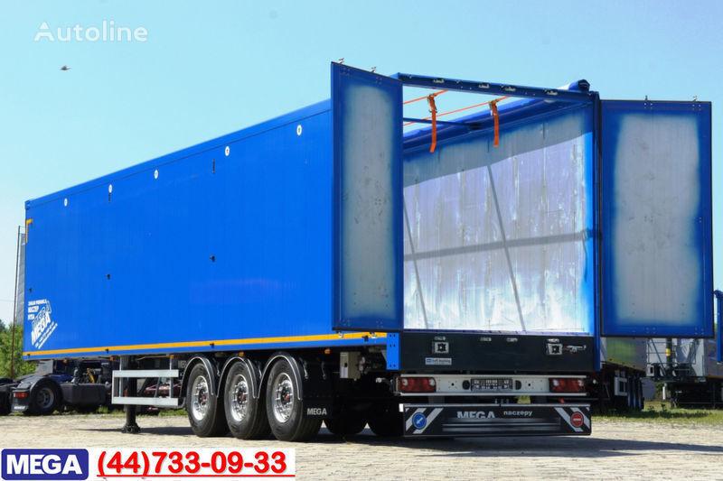 new MEGA 13 m (L) - 89 M³ CARGO-FLOOR FUR MULE = BEREIT = tipper semi-trailer