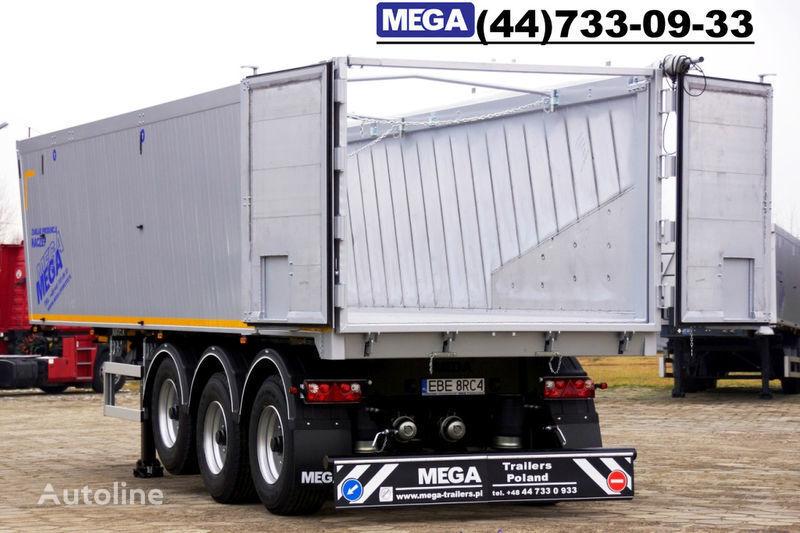 new MEGA 39/8360KD- camosval 39 kbm, alyuminievyy, klapan-dverey GOTOV! tipper semi-trailer