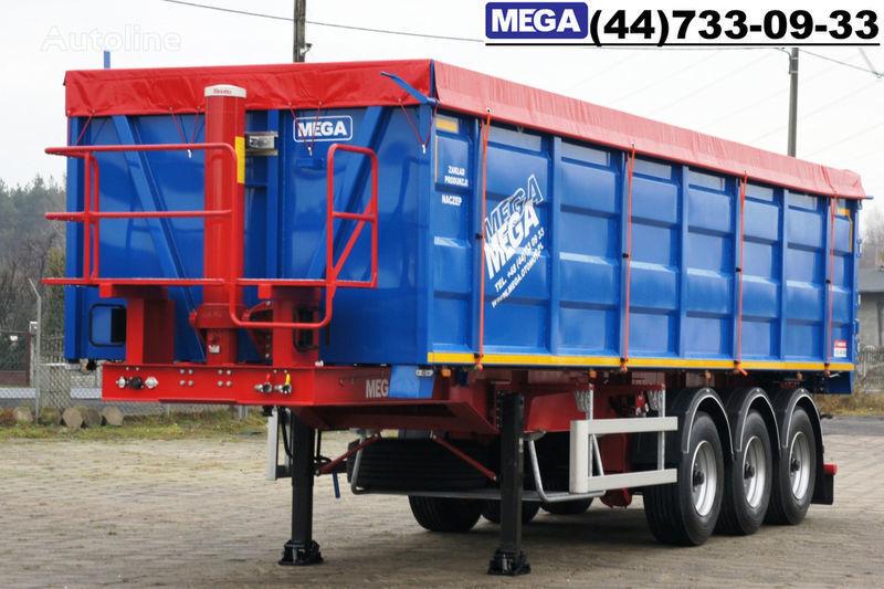 new MEGA 40 kub., klapan-dverey, 40/9200 KD !! GOTOV !! tipper semi-trailer