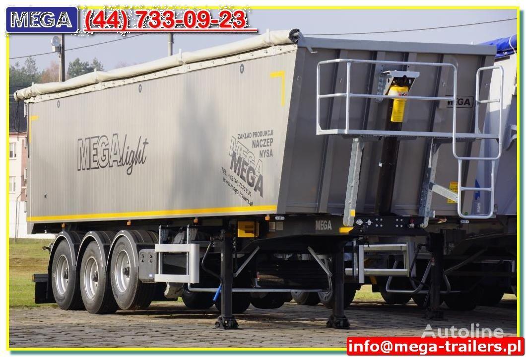 new MEGA 42 - 50 M³ LEICHTE Plus+ :. NEUE MODELE ab 5.490 Kg  tipper semi-trailer