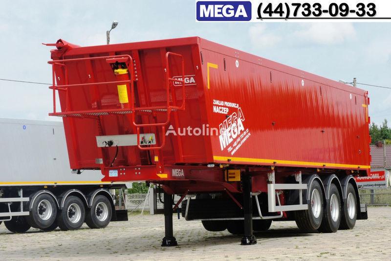 new MEGA 42 kbm, camosval alyum./ Legkiy Ves ot 5,8 t ! GOTOV ! tipper semi-trailer