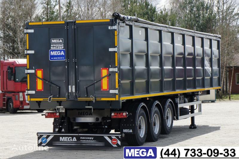 new MEGA 55 M³ DOMEX/OPTIM 650 STEEL TIPPER / HATCH-DOOR & GRAINHOLES !! tipper semi-trailer