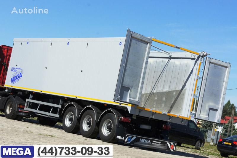 new MEGA 60/10200 KD - camosval 60 kub., klapan-dverey - !! GOTOV !! tipper semi-trailer