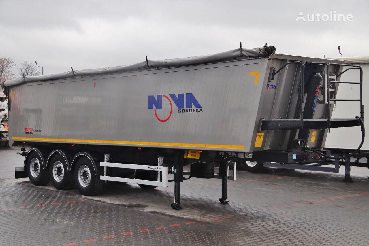 METAL-FACH NOVA / TIPPER 41 M3 / 6300 KG / 2015 YEAR /  tipper semi-trailer