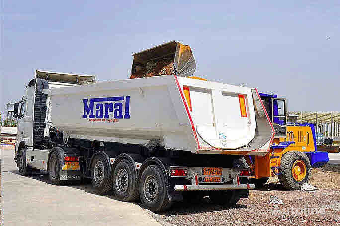 new Maral Trailer TIPPER   tipper semi-trailer
