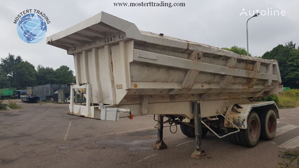 Marrel Bennes Marrel BPW - Drum - Steelspring - 21m3 tipper semi-trailer