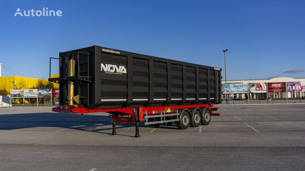 new NOVA 60-70 m3 Scrap Tipper Semi Trailer tipper semi-trailer