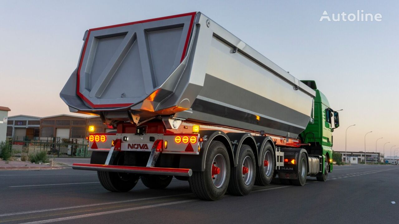 new NOVA Benne semi-Remorque Hardox de la société de fabrication tipper semi-trailer