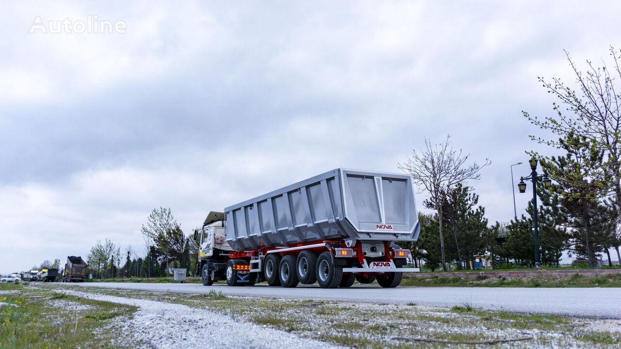 new NOVA Rock Type Tipper Trailer from Manufacturing Company  tipper semi-trailer