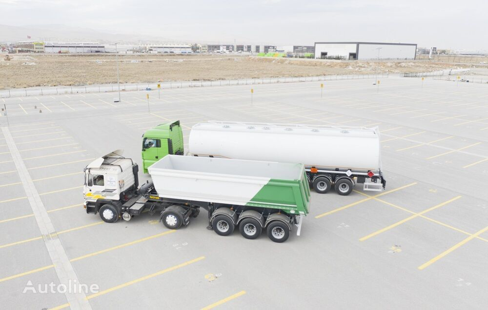 new NOVA Tipping Semi Trailer from factory HARDOX tipper semi-trailer