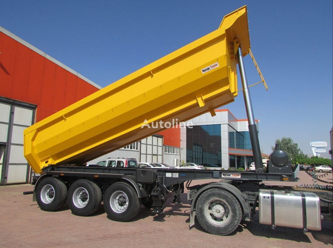 new NURSAN tipper semi-trailer