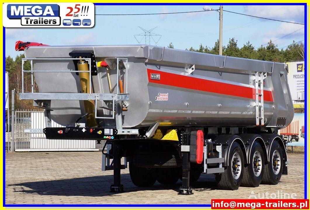 new OZGUL 26/ 28 m³ MEGA Trailers Half-Pipe tipper HARDOX 450 READY TO GO  tipper semi-trailer