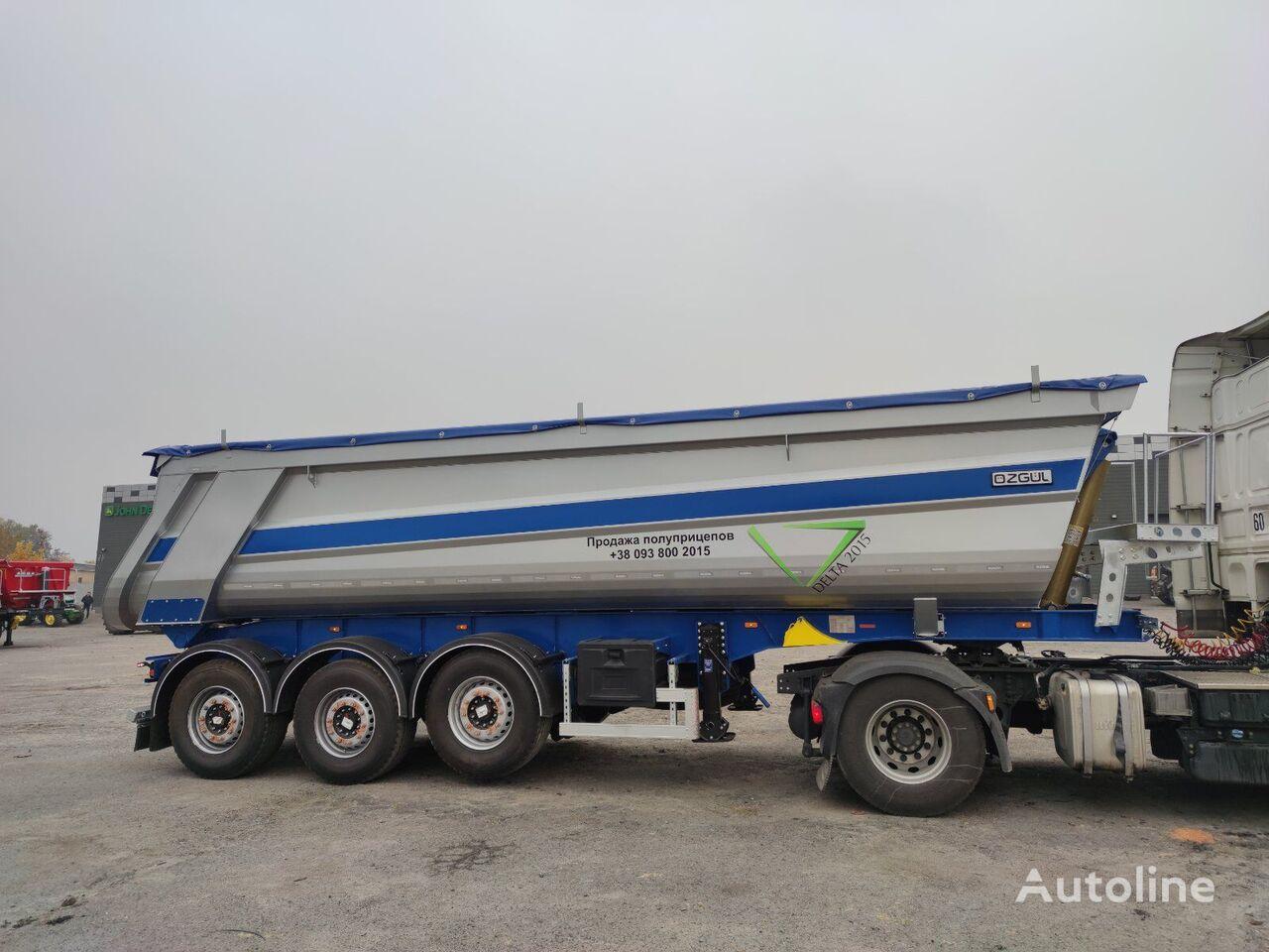 new OZGUL (HARDOX) 28m3 tipper semi-trailer